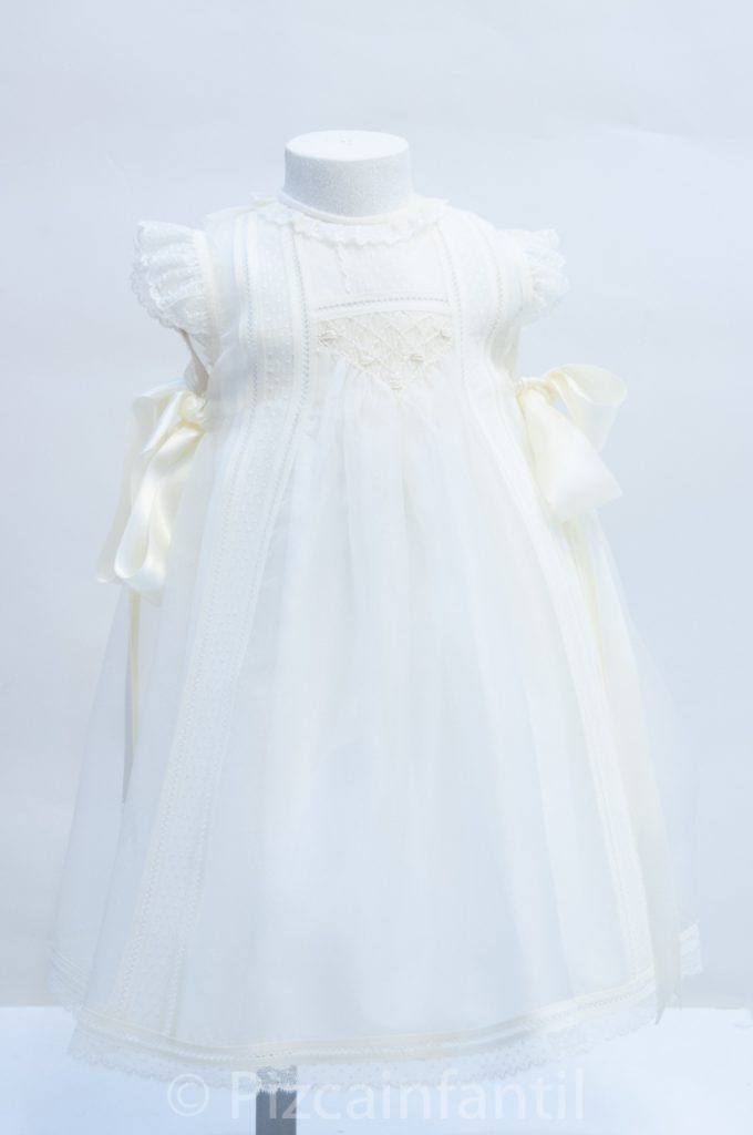 vestido ceremonia - 05 pizca infantil