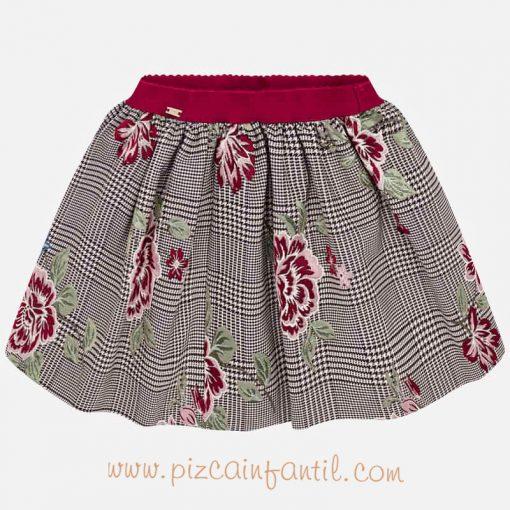 mayoral-falda-cuadros-pizcainfantil
