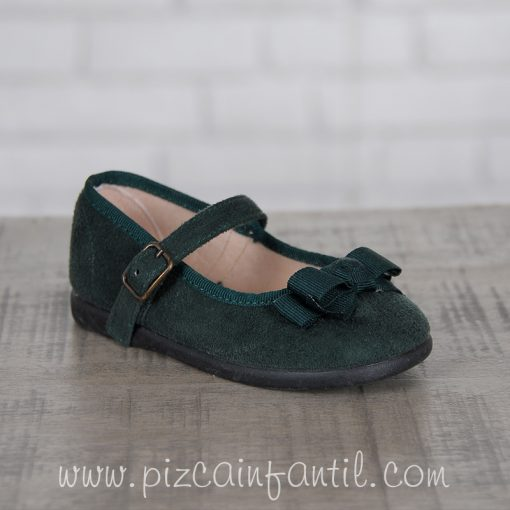 tokolate-zapato-verdeoscuro-pizcainfantil