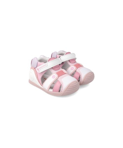biomecanics-cangrejera-sandalia- 212144-blanca-rosa-pizcainfantil