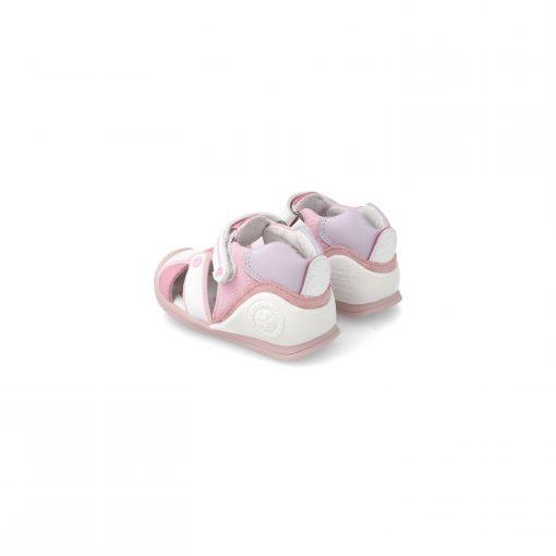 biomecanics-cangrejera-sandalia- 212144-blanca-rosa--pizcainfantil
