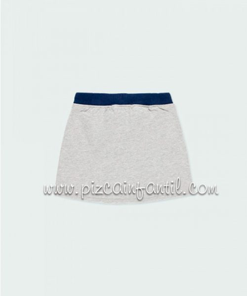 boboli-403041--falda-felpa-banda-niña-pizcainfantil