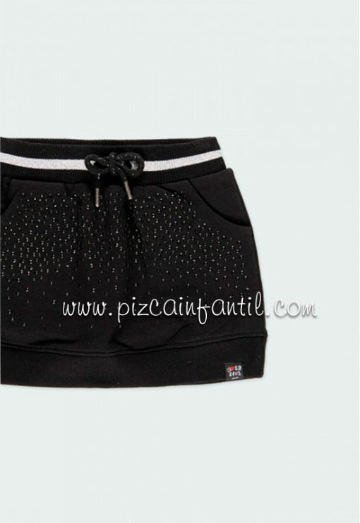 boboli-433156-falda-punto-niña-negra--pizcainfantil