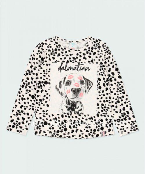 boboli-443012-camiseta-niña-mancha-dalmata-pizcainfantil