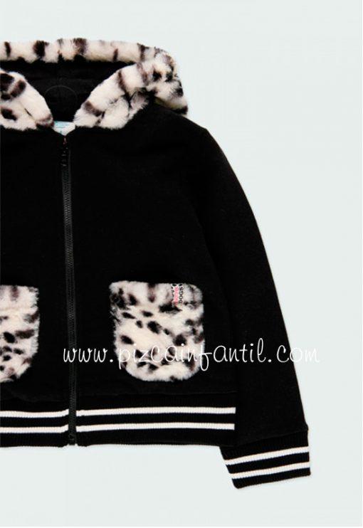 boboli-443214-chaqueta-felpa--combinada-pelo-niña-pizcainfantil