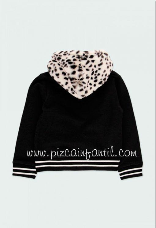boboli-443214-chaqueta-felpa-combinada-pelo--niña-pizcainfantil